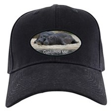 Hippo Love and Snuggles Customizable Baseball Hat