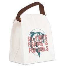 Cute Girls can do anything Canvas Lunch Bag