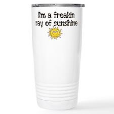 Funny Ray Travel Mug
