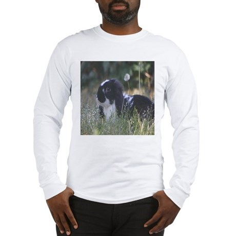 Black & White Mini Lop Long Sleeve T-Shirt