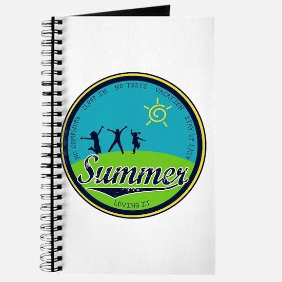 Cute June holidays Journal