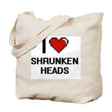 Unique Head shrink Tote Bag