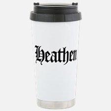 Cute Humorous atheist Travel Mug