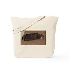 manx sleeping Tote Bag