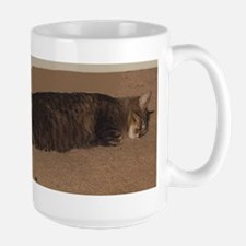manx sleeping Mugs