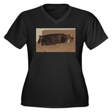 manx sleeping Plus Size T-Shirt