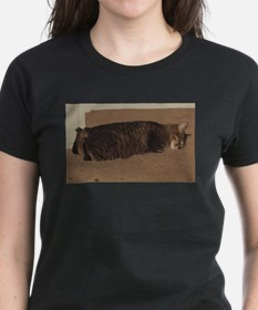 manx sleeping T-Shirt