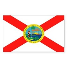 Florida State Flag Rectangle Decal
