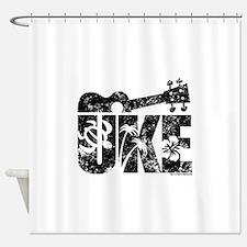 Uke Ukulele Shower Curtain