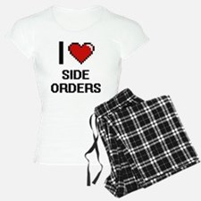 I Love Side Orders Digital Pajamas