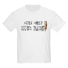 Screw Sheep Count Bacon T-Shirt