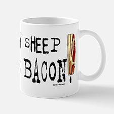 Screw Sheep Count Bacon Mugs