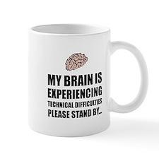 Brain Technical Difficulties Mugs