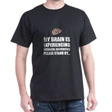 Brain Technical Difficulties T-Shirt