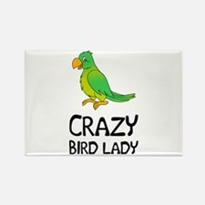 Crazy Bird Lady Magnets
