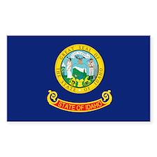 Idaho State Flag Rectangle Decal