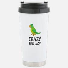Crazy Bird Lady Travel Mug