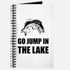 Go Jump In Lake Journal