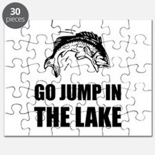 Go Jump In Lake Puzzle
