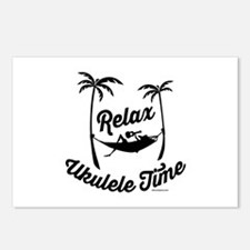 Relax Ukulele Time Postcards (Package of 8)
