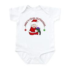 Santa 1st Christmas Infant Bodysuit