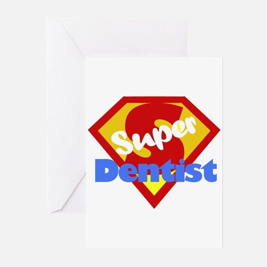 Super Dentist DDS Greeting Cards (Pk of 20)