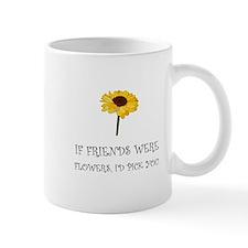 Pick Friends Flowers Mugs
