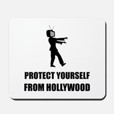 Protect Yourself From Hollywood Mousepad