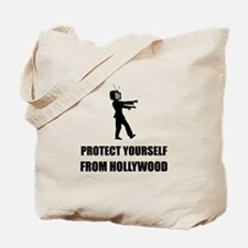 Protect Yourself From Hollywood Tote Bag