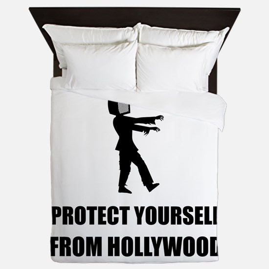 Protect Yourself From Hollywood Queen Duvet