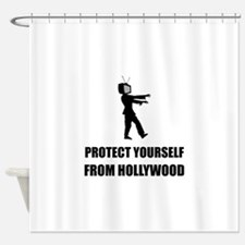 Protect Yourself From Hollywood Shower Curtain