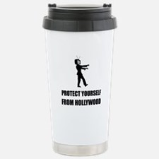 Protect Yourself From Hollywood Travel Mug