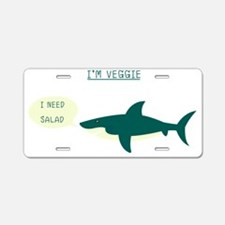 Cute Salads Aluminum License Plate