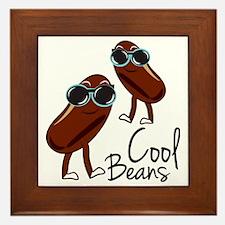 Unique Bean Framed Tile