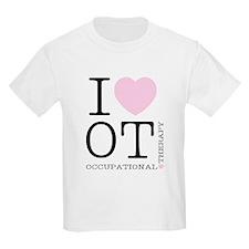 I Heart OT - Women's Colored T-Shirt