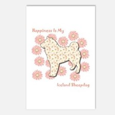 Sheepdog Happiness Postcards (Package of 8)