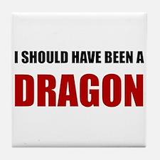 Should Have Been Dragon Tile Coaster