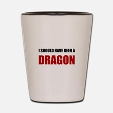 Should Have Been Dragon Shot Glass