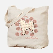 Sheepdog Happiness Tote Bag