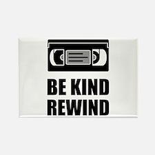 VHS Cassette Tape Be Kind Rewind Magnets