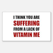 Vitamin Me Decal