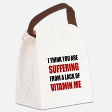 Vitamin Me Canvas Lunch Bag
