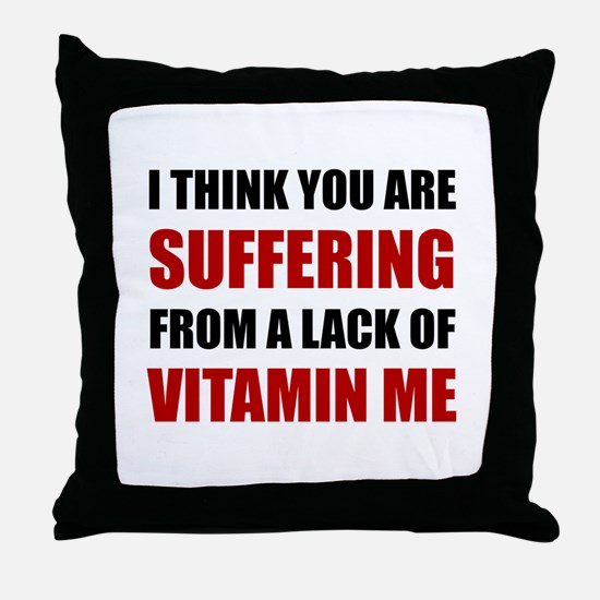 Vitamin Me Throw Pillow