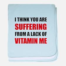Vitamin Me baby blanket