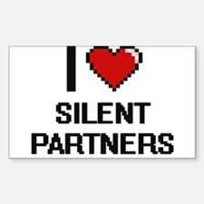 I Love Silent Partners Digital Design Decal