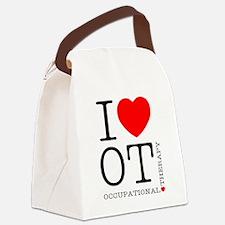 OT-iloveOT2.png Canvas Lunch Bag