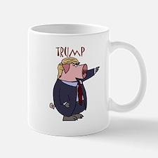 Funny Donald Trump Political Pig Mugs