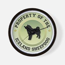 Sheepdog Property Wall Clock