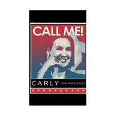 Call Me Carly Sticker (rectangle)