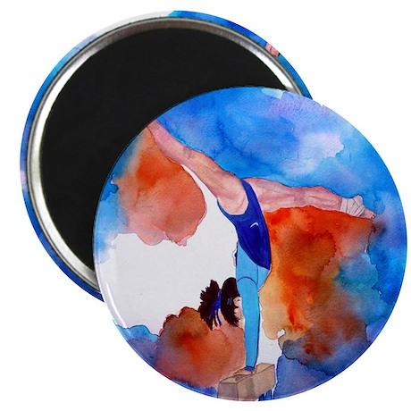 Balance Beam Gymnastics Magnet